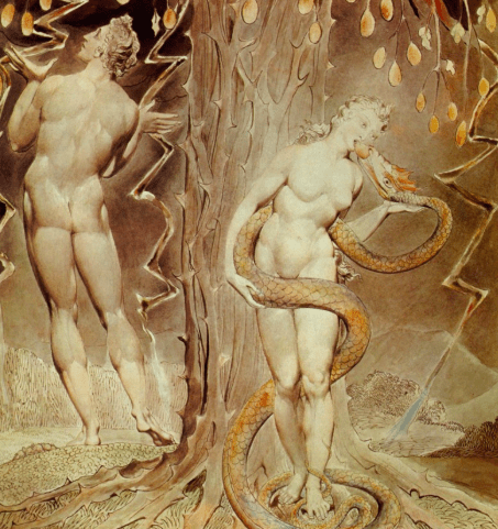 Image result for adam eve cain and abel serpent